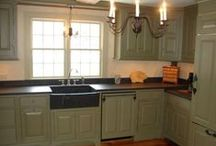 A Primitive,Colonial, or Farmhouse Kitchen / by Tammie ~Mulberry Spice~