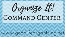 Organize It! COMMAND CENTER / Create a command center in your home to keep track of your incoming mail and important to-dos.