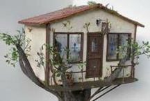 Create ~  Fairy & dollhouses / My inspiration board for all things fairy (fairies, fairie) miniatures, dollhouses and tiny things like gardens and accessories!  / by Angela Wright