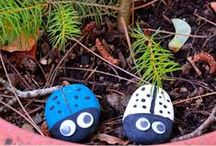 Crafts for Kids / Lots of easy crafts for the kids. Keep them busy and creating or just having fun! Find great ideas for summertime, spring, winter, or fall.