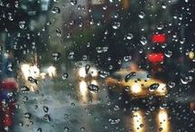 Rainy Days and Nights / Sometimes the rain an be beautiful and inspiring. These photos represent that sort of rain.