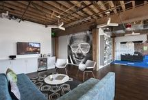 Interiors: Work Spaces / A look at some of the creatively designed offices and workspaces around the world that inspire me.