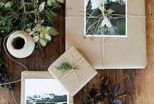 Design: Wonderful Wrapping / Because it's much more fun to give and get gifts that are creatively wrapped with care.