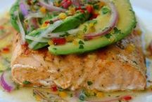 Oceanside noms / Fish and other seafood-based recipes.