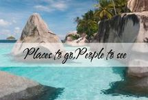 Places to go, People to see