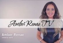 Amber Renae TV / Follow this board for all episodes of Style Nation, fab How To's, and Styling Hacks.  For more head over to my Youtube channel: http://youtube.com/amberrenaetv