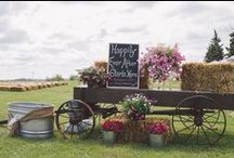 Country Wedding / My daughter is getting married in August 2016. So finally I get to plan a wedding. Yay for Pinterest! / by Hawk Valley Garden Spencer, Iowa