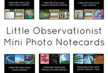 Little Observationist: Cards / Handmade mini notecards with original photography from Stephanie Sadler.   For the full collection: https://www.etsy.com/uk/shop/LittleObservationist?section_id=16836479