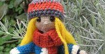 Amigurumis handmade Montserrat / Amigurumi handmade, hechos a mano por Montserrat . milcentdeu.es #crochet #ganchillo