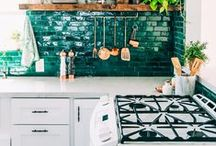 Interiors: Kitchens / A place to gather inspiration for a future home: all about lovely kitchen spaces.