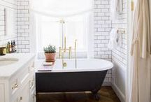 Interiors: Bathrooms / A place to gather inspiration for a future home: all about lovely bathroom spaces.