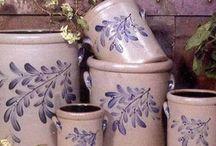 Salt Glazed Pottery / Salt glazed pottery