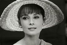 Audrey Hepburn Style board / Signature style mood board inspired by Audrey Hepburn