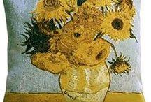 Vincent Van Gogh Throw Pillows / #VincentVanGogh