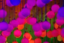 color splash / Bright, bold, eye-popping color! / by Leslie Kokesh