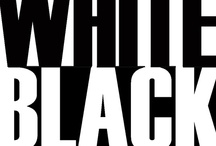 black and white / As simple as black and white. / by Leslie Kokesh
