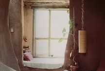 Castle in the clouds / Home- eclectic, warm, vibrant & open with attention to detail. There is little charm in perfect order. Earthy, rustic, vivid minimalism (not monochromatic or modernist) fits the final picture. Some images may be cluttered, but the smallest details can be perfectly inspiring. / by Aisha A