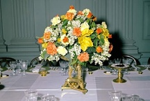 Jackie Kennedy's White House Flowers / Jackie brought a more relaxed, natural feel to White House floral arrangements. So pretty. Most images courtesy of JFK Library. All rights reserved to appropriate copyright holders. www.pinkpillbox.com.
