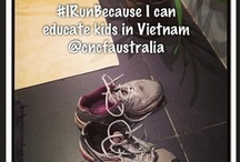 #irunbeCAUSE / With some big running events coming up in the next few months, you're probably pounding the pavement in your trainers getting ready for race day!  Whether it's a quick early morning jog or a practice half marathon, if you're supporting doing it for a cause you care about, tell us and WIN!    Full terms of entry here - http://everydayherocommunity.com/2013/05/15/irunbecause/