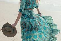 BOHO DRESSES ☽