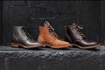 Leather Boots and Other Goods / The top boots, jackets, accessories, and other products constructed from leather.