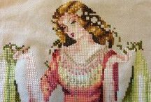 Cross Stitch Gallery / This is a place where you can see my cross stitch and needlework designs in the process of being made, and the finished designs as well.  I have stitched for about 30 years, so I have a lot of beautiful designs completed.