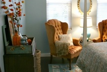 Beautiful Bedrooms / Places I'd love to snuggle up in. Romantic and cozy bedrooms.