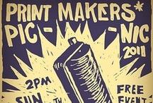 Linoleum and Prints / by Sarah May