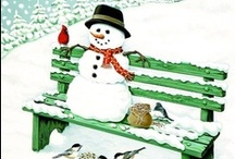 Holidays-Frosty the Snowman / Please also check out my Printable Christmas board for more Snowman goodies!! / by KC Hope
