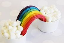 Rainbow Food / My Rainbow board got so full that I decided it would be best to give the rainbow food one of its own.  Happy, happy eats :)! / by Hafapea