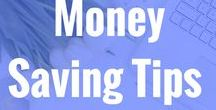 Money Saving Tips / Great posts and ideas on how to save money and budget. Budgeting your money, staying on track with your finances, saving money and getting financially fit. saving money finance budgeting frugal living pay off debt debt free budget
