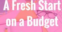 A Fresh Start blog posts! / Blog posts that come from my blog www.afreshstartonabudget.com My blog posts are about organization, budgeting, blogging, parenting, marriage and more.