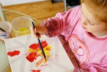 Art, Crafts for children  / Boards of crafting and art projects