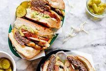 BURGERS / All burgers of all varieties.