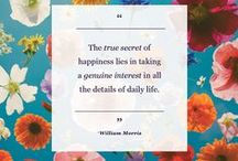 Happiness Quotes / Inspirational quotes to brighten your day. / by Happify