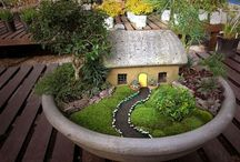 Miniature Gardens / Fairy Gardens / Terrariums / Just discovered these masterpieces and would love to make one someday...