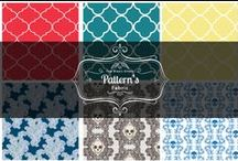 Pattern's  / Pattern's designed by myself using Adobe Illustrator and Adobe Photoshop. © 2014 Tom Ryan's Studio
