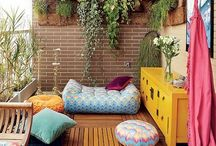 Balcony Decoration / Dream balcony designs which are very duable and not over the top!