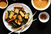 Tofu Meals / Meals made with tofu = all vegan! / by Tazim Damji BeingTazim.Com
