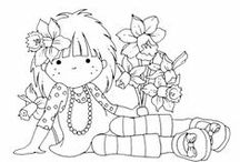 Digital Stamps and Printables / Hurray!  Stuff to colour, and how best to do it with my copics!