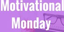 Motivational Monday  linkup posts / These are the amazing posts linked up on my Motivational Monday posts