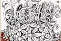 Zentangle / Learning to zentangle with patterns