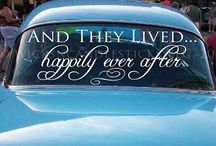 happily ever after / wedding details / by Kendall Berryhill