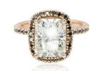 Black Diamond / Black Diamond Engagement Rings and Black Diamond Wedding Rings by Laurie Sarah.