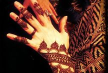 Tattoos and mendhi