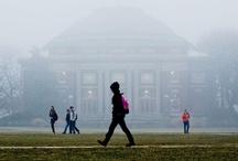 Campus Scenes / Photos of the University of Illinois at Urbana-Champaign Campus. #Illini #Illinois #UIUC #College