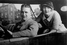 "F. Scott & Zelda Fitzgerald Magic! / ""It was only a sunny smile, and little it cost in the giving, but like morning light it scattered the night and made the day worth living.""  ~ F. Scott Fitzgerald"