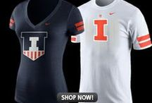 Illini Gear / Highlighting the newest and best Fighting Illini gear. #Illini / by Illini Athletics