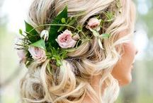 Wedding Hair / Beautiful Hairstyles for all kinds of Wedding Themes