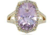 Diamond Alternative Engagement Rings